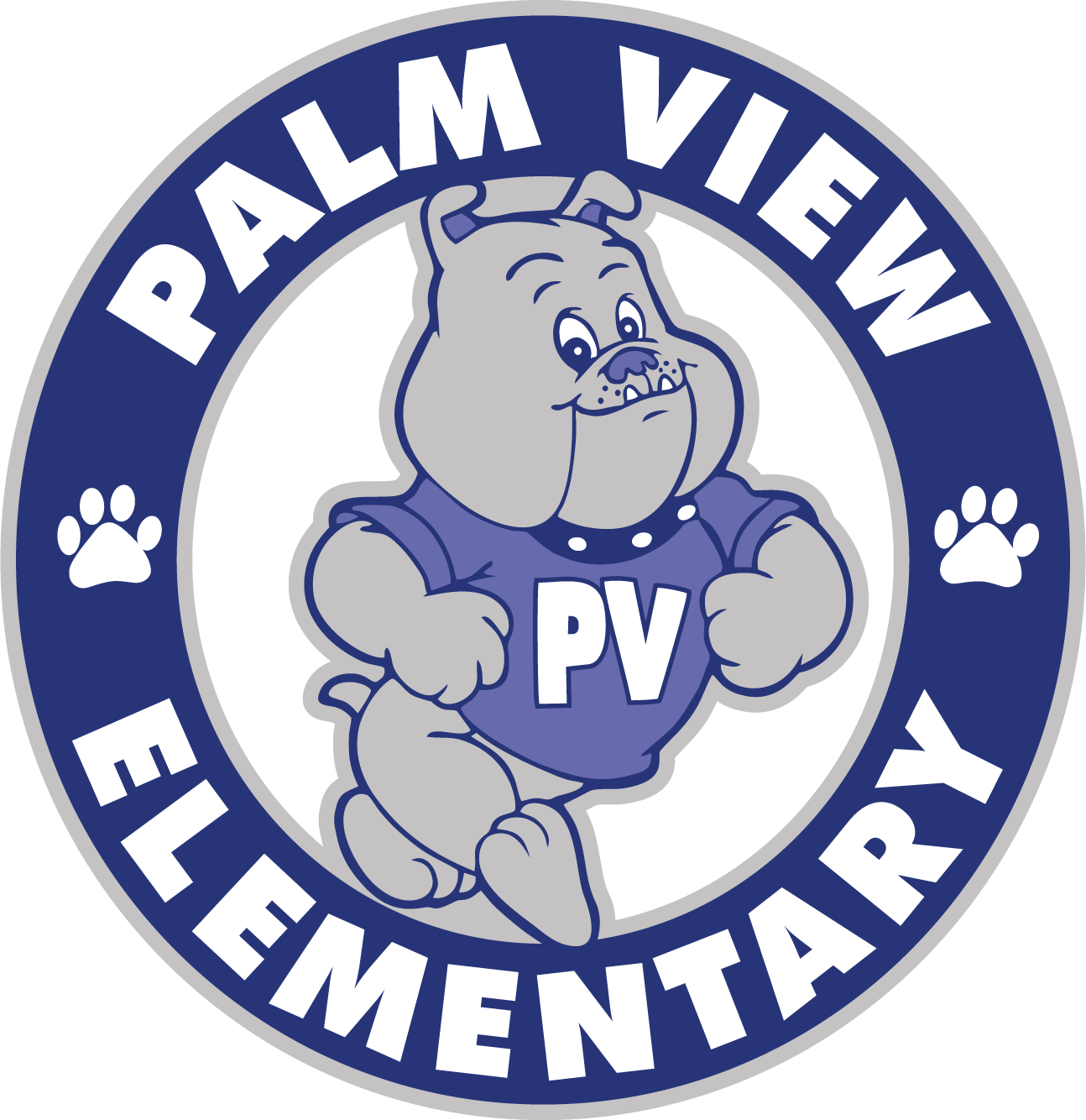 Palm View Elementary Logo